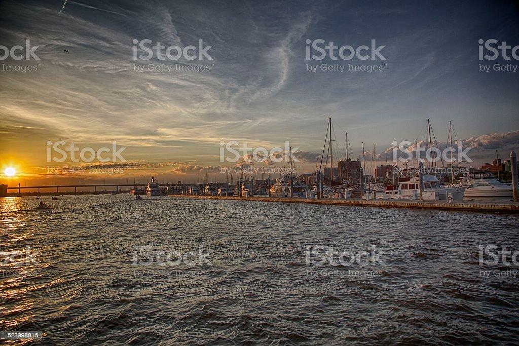 Boat Ride stock photo