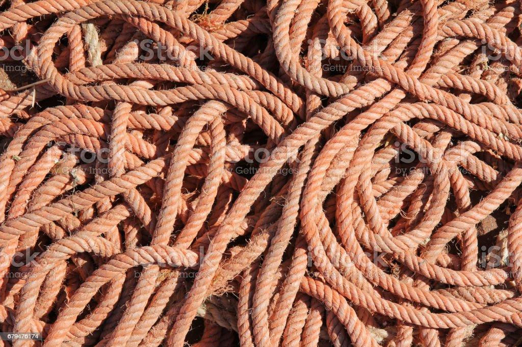 boat rope background 免版稅 stock photo
