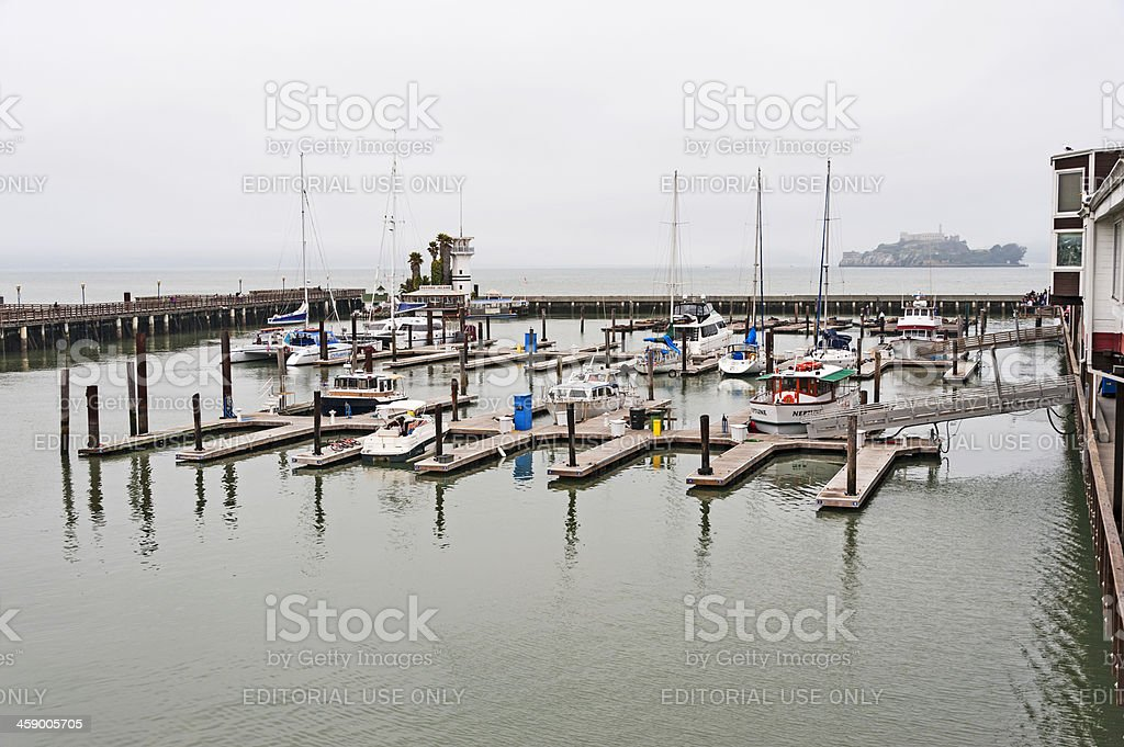 Boat Slips royalty-free stock photo
