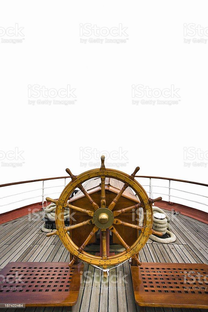 Bateau roue sterring - Photo