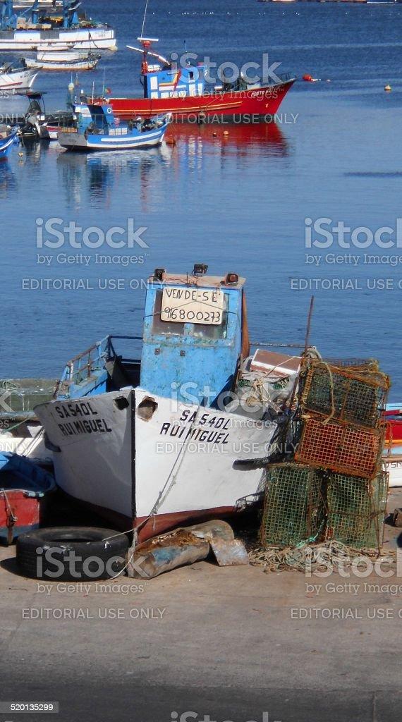 Boat To Sale stok fotoğrafı