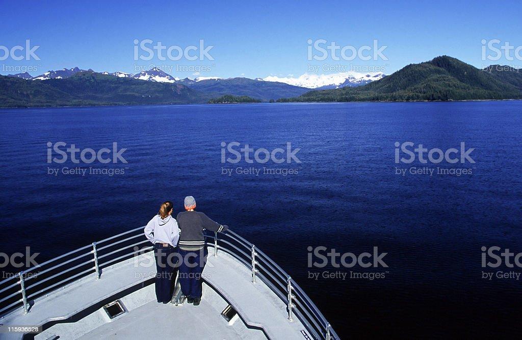 Boat tourist stock photo