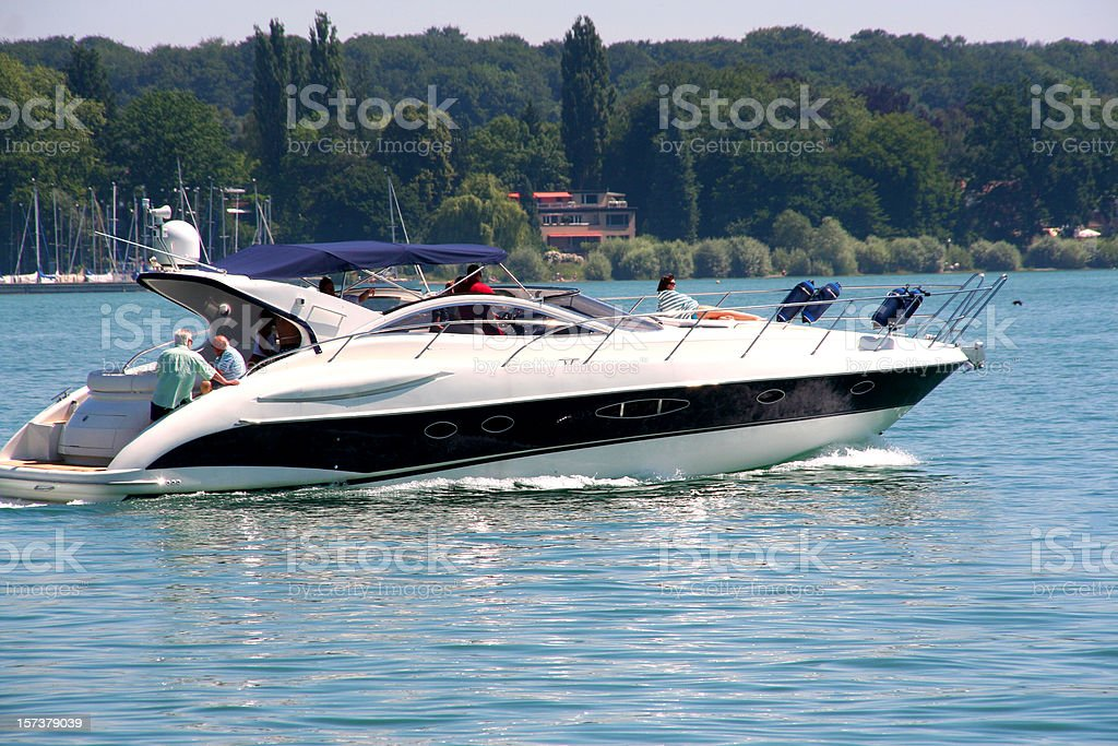 boat trip royalty-free stock photo