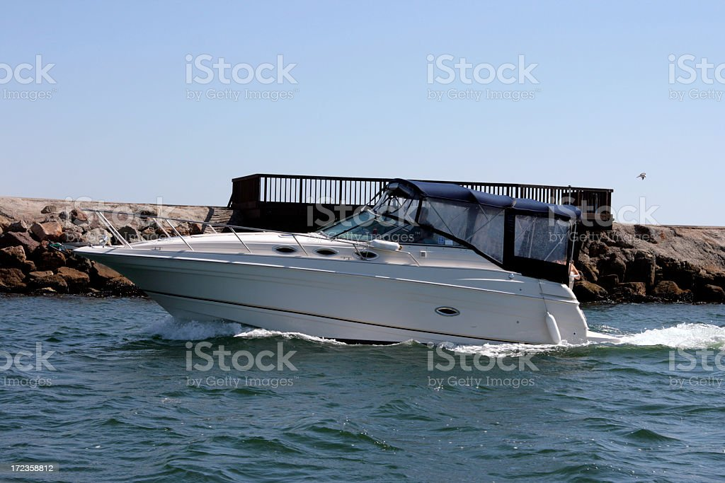 Boater royalty-free stock photo