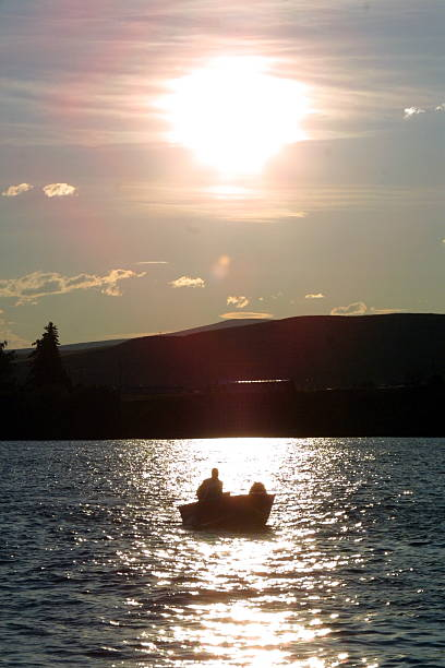 Boater Silhouette