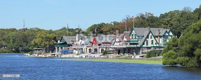 Boathouse Row (Philadelphia, Pennsylvania).