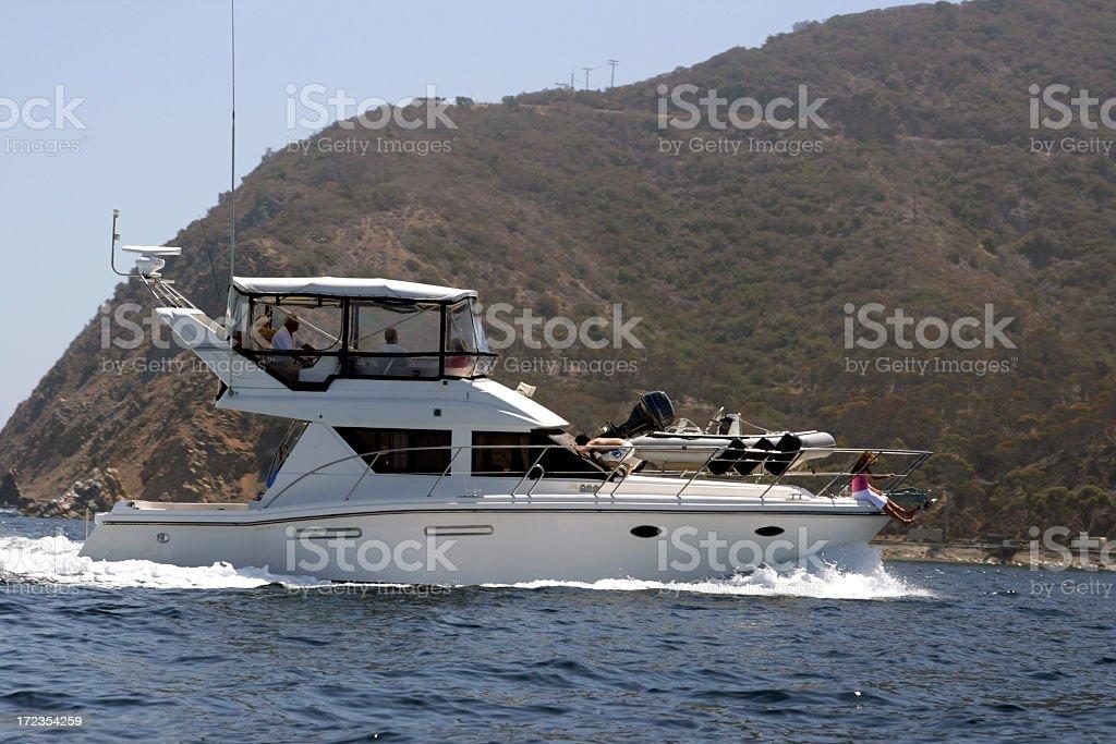 Boating Family royalty-free stock photo