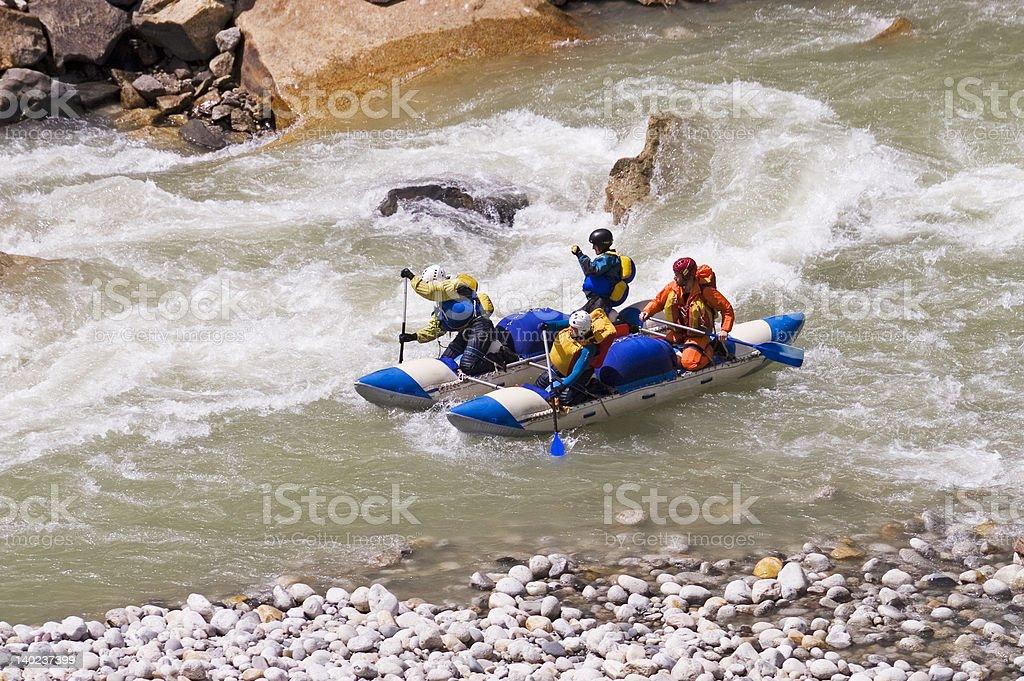 Boating on Ganga [2] royalty-free stock photo