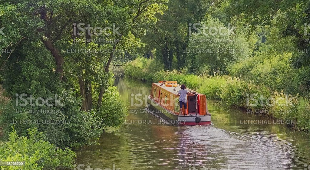 boating royalty-free stock photo