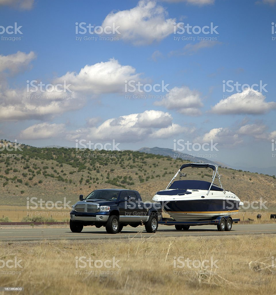 boating time royalty-free stock photo