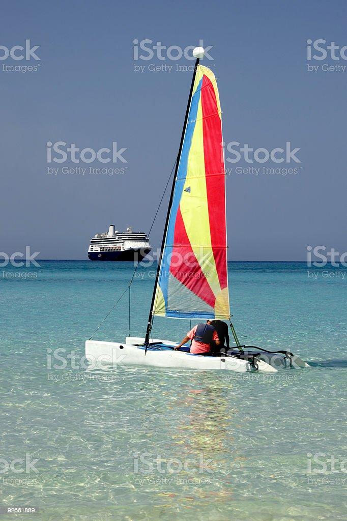 Boats Afloat 1 royalty-free stock photo