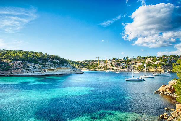 Bateaux et bleu de la mer - Photo