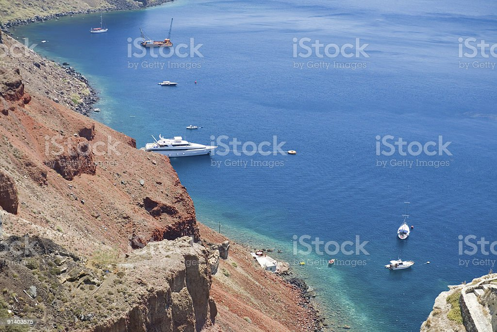 Boats and ships royalty-free stock photo