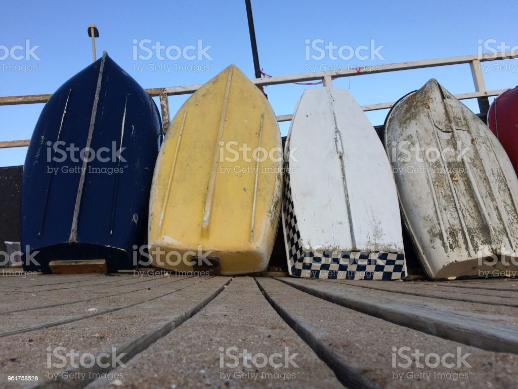 Boats at Broadstairs royalty-free stock photo