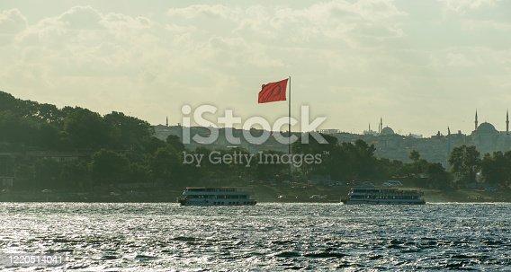 istock boats at coast of eminonu oldtown european side of istanbul turkey 1220514041