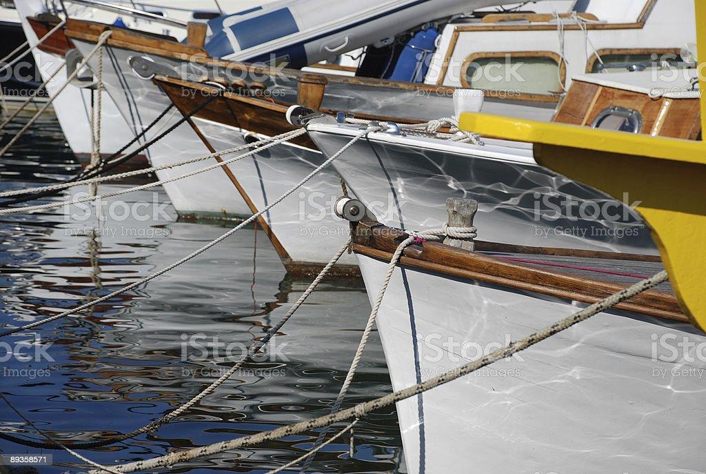 boats bows royalty free stockfoto