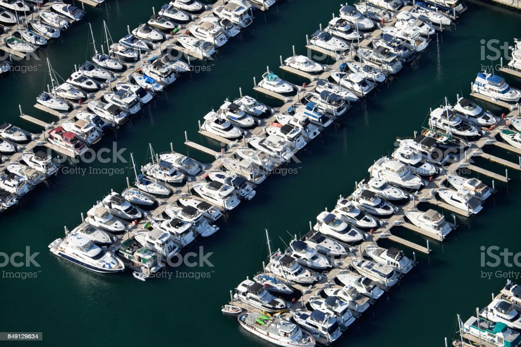 Boats for rental stock photo