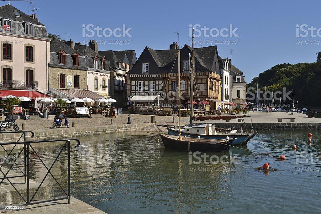 Barcos en Auray, Francia - foto de stock
