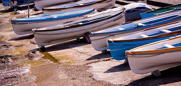 Boote in Capry, Italien – Foto