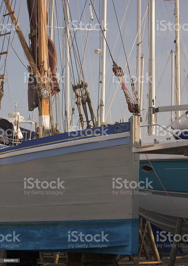 Лодки в Пристани Стоковые фото Стоковая фотография