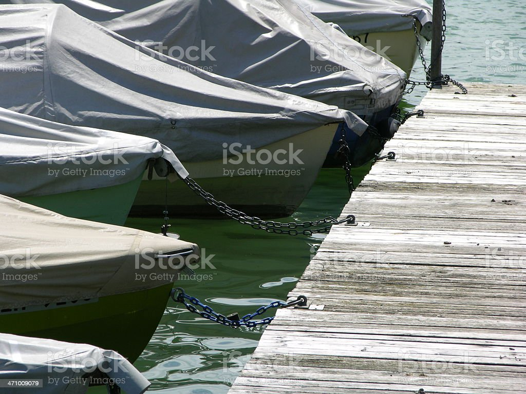 boats in port royalty-free stock photo