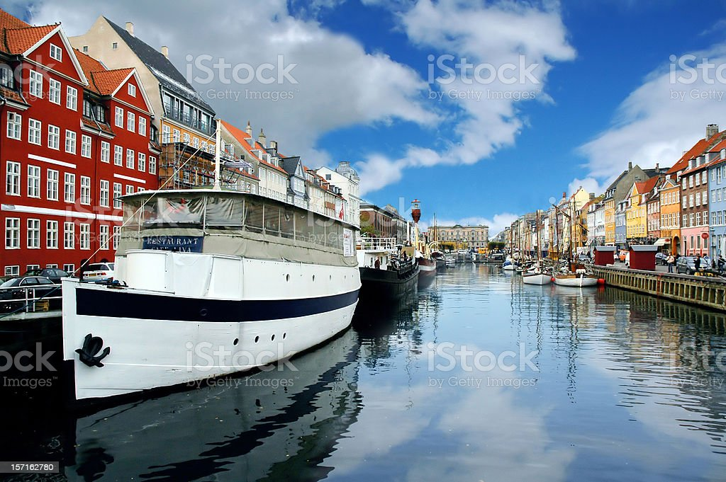 Boats in River royalty-free stock photo