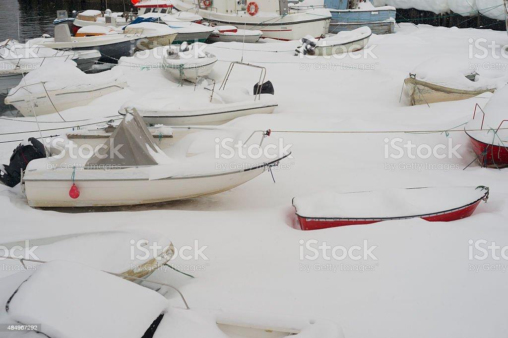 Boote in Sisimiut – Foto