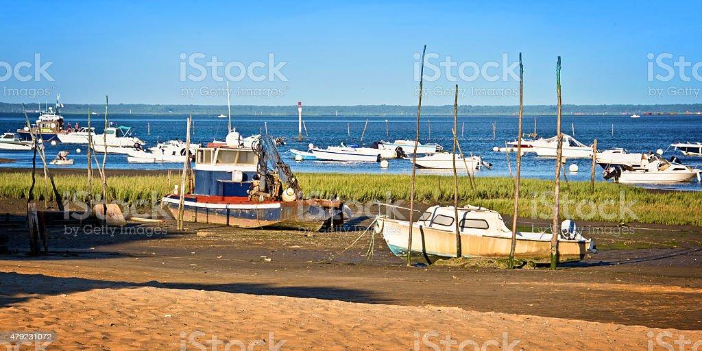 Bateaux dans le Bassin d''Arcachon, France - Photo