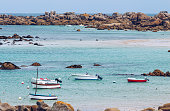 Small port Doelan near Clohars-Carnoet in brittany, France