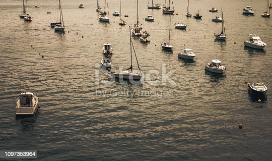1127346848 istock photo Boats in the sea 1097353964