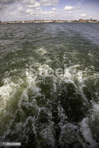1127346848 istock photo Boats in the sea 1138046986