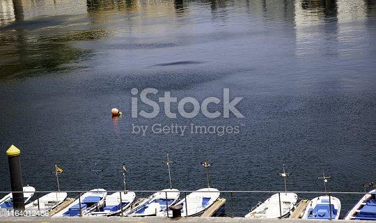 1127346848 istock photo Boats in the sea 1164012486