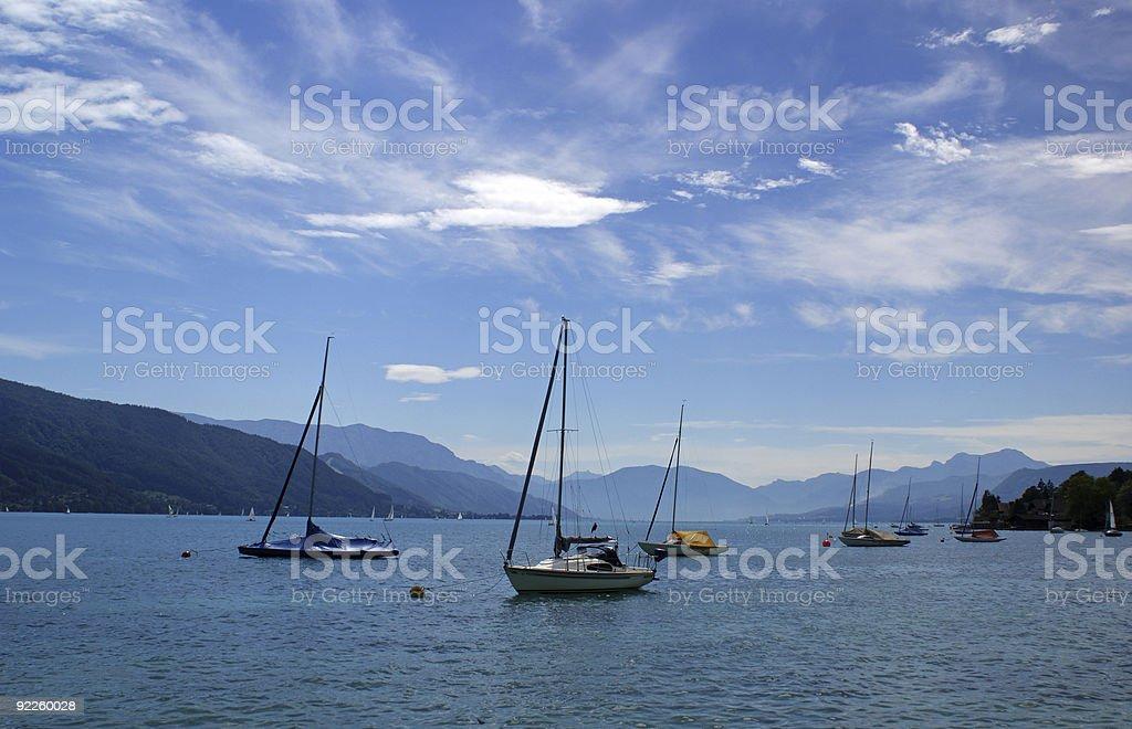 Boote auf dem See – Foto