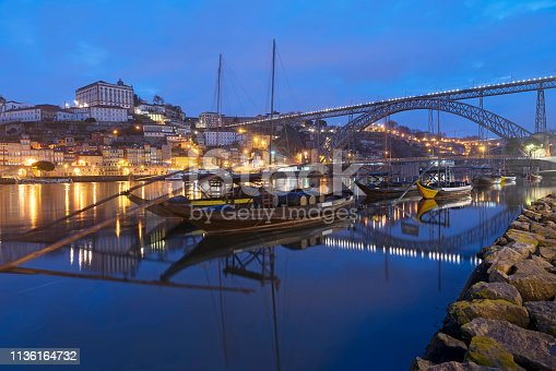 early morning photograph of the Douro River in Portugal