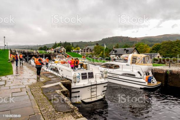 Boats waiting for locks to be opened to enter the caledonian canal picture id1164803849?b=1&k=6&m=1164803849&s=612x612&h=0kgsbyofngqxwxbckb5egxyr 5nbs0bmmqjce0bbar8=