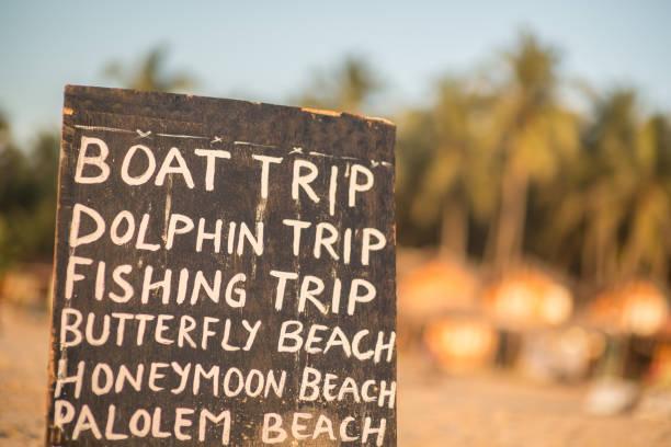 BoatTrip_sign – Foto