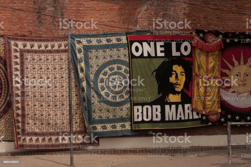 Bob Marley In Nepal straat foto
