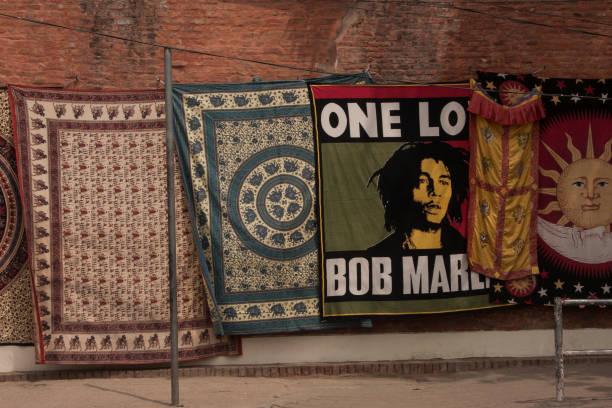 Bob Marley In Nepal Straße – Foto