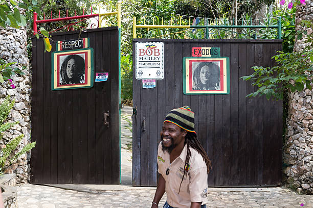 Bob Marley Mausoleum stock photo