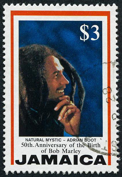 Bob Marley-Briefmarke – Foto
