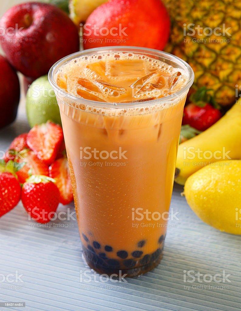 Boba Milk Tea stock photo