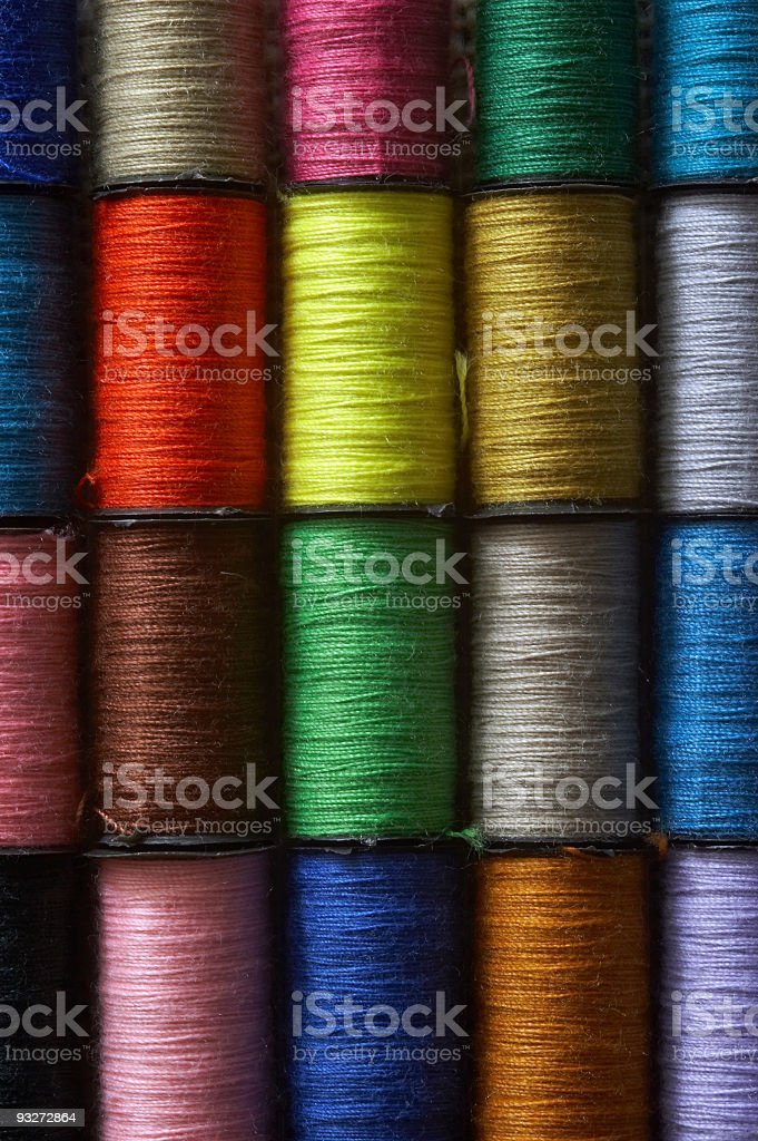 Bobbins royalty-free stock photo