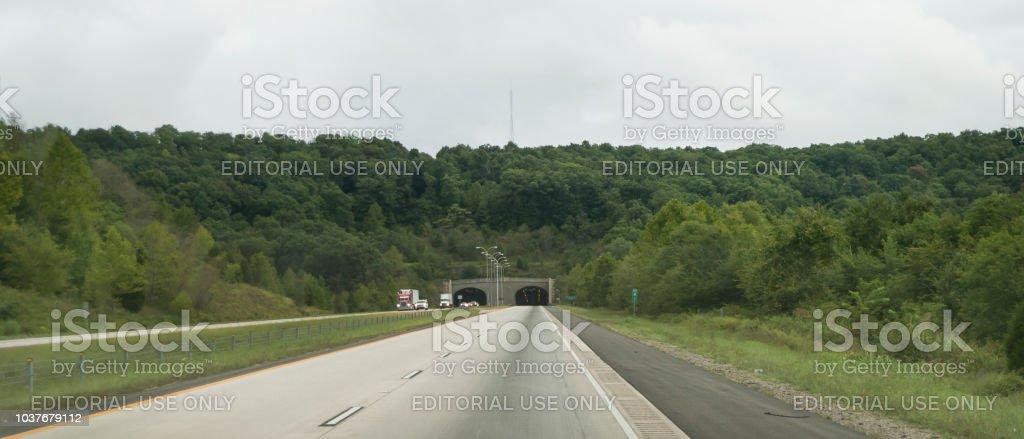 Bobby Hopper Tunnel, Arkansas - 7. September 2018 – Foto