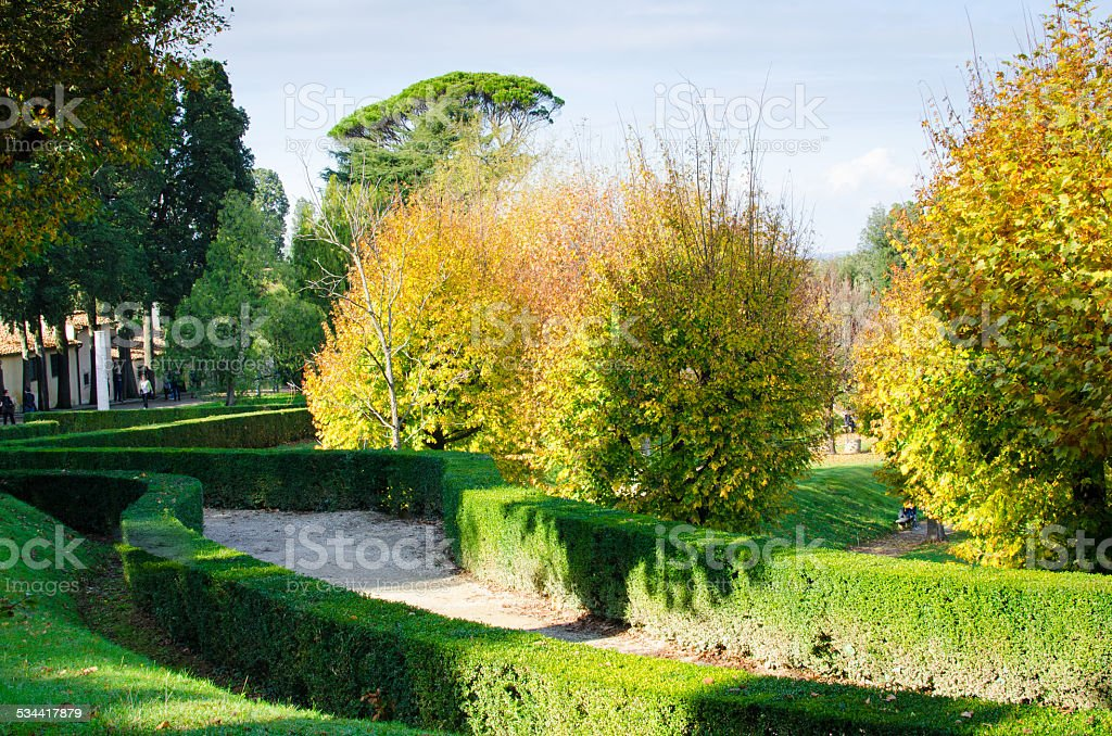 Giardini Di Boboli Firenze Stock Photo More Pictures Of 2014 Istock