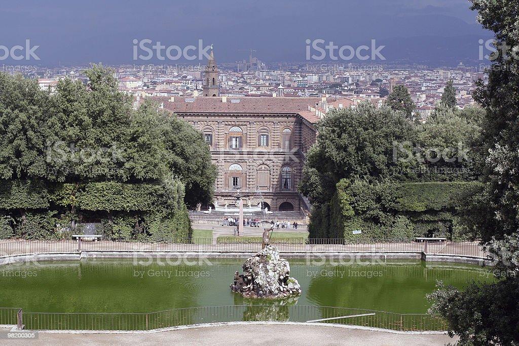 Boboli gardens royalty-free stock photo