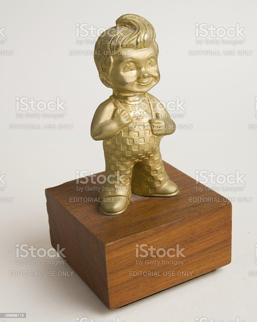 Bob's Big Boy Statue stock photo