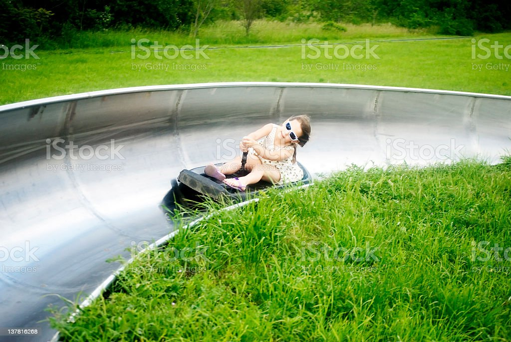 bobsled stock photo