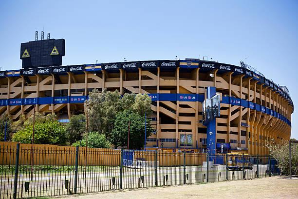 Boca Juniors de Argentina Stadium stock photo
