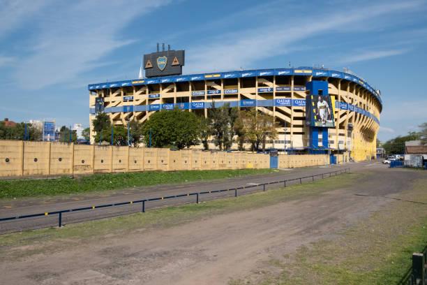boca juniors stadium - maradona foto e immagini stock