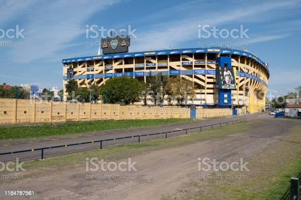 Foto de Estádio Boca Juniors e mais fotos de stock de Amarelo